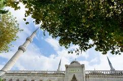 błękitny Istanbul minaretu meczet Zdjęcia Stock