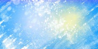 Błękitny jaskrawy abstrakcjonistyczny horyzontalny tło royalty ilustracja