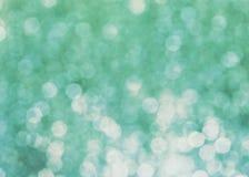 Błękitny jaskrawy bokhe zdjęcie stock