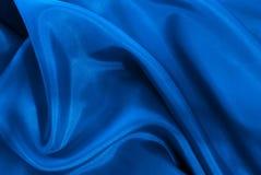 błękitny jedwab Zdjęcia Royalty Free
