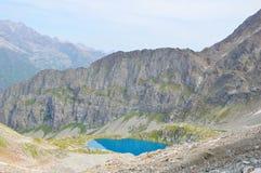 błękitny jeziorna góra Obraz Stock