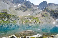 błękitny jeziorna góra Zdjęcie Stock