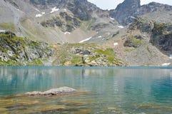 błękitny jeziorna góra Zdjęcia Stock