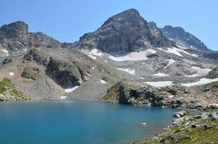 błękitny jeziorna góra Obraz Royalty Free