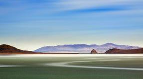 błękitny jeziorny ostrosłup zdjęcia royalty free