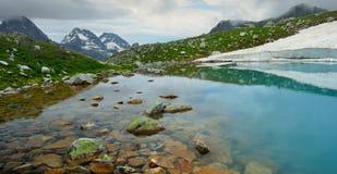Błękitny jezioro Obraz Stock