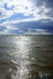 Błękitny jezioro Zdjęcia Royalty Free
