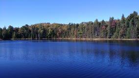 Błękitny jezioro Fotografia Royalty Free