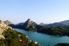 błękitny jezioro Obrazy Royalty Free