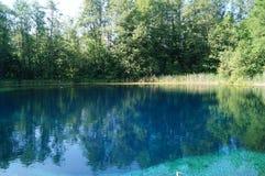 Błękitny jezioro, park narodowy Obraz Royalty Free