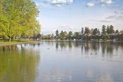 Błękitny jezioro parka Oregon stan Obraz Royalty Free