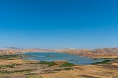 Błękitny jezioro w Morocco Obraz Stock