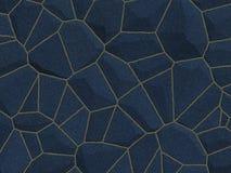 błękitny kamień stonewall strukturę obraz stock