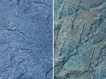błękitny kamienia tekstura Obrazy Royalty Free