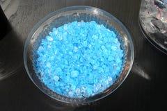 błękitny kamienie Zdjęcia Stock