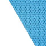 błękitny kapsuły ostrości przodu odosobnione pigułki biały Fotografia Stock