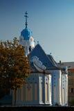 błękitny kościół Zdjęcie Royalty Free