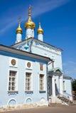błękitny kościół zdjęcia stock