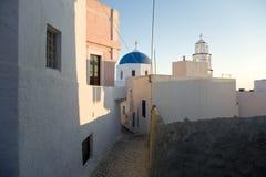 błękitny kościół Obraz Royalty Free