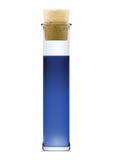 błękitny kolbiasty ciekły stopper Zdjęcie Royalty Free