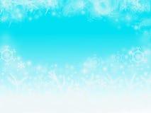 Błękitny kolorów bożych narodzeń tło Obraz Royalty Free