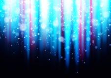 Błękitny kolor łamający lekki tło Zdjęcia Stock