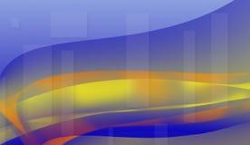 Błękitny kolor czuł teksturę Abstrakcjonistyczny tło i tekstury royalty ilustracja