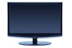 błękitny koloru błękitny monitor Zdjęcia Stock