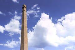 błękitny kominowy niebo Zdjęcie Stock