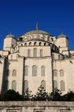 błękitny kopuły meczetu indyk Obrazy Royalty Free