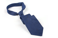 błękitny krawat Zdjęcia Stock