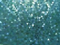 Błękitny kruszcowy błyszczący geometryczny odbijający jaskrawy nowożytny tło ilustracja wektor
