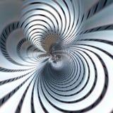 Błękitny kruszcowy futurystyczny abstrakcjonistyczny tło ilustracja wektor