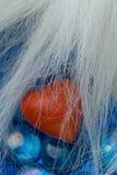 błękitny kryształów kierowy czerwony kształt Obrazy Stock