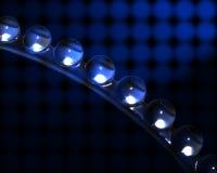 błękitny kryształ Fotografia Stock