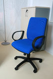 błękitny krzesło Zdjęcia Stock
