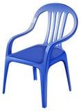 błękitny krzesło royalty ilustracja