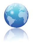 błękitny kula ziemska Zdjęcie Royalty Free