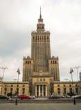 błękitny kultury pałac Poland nauki nieba lato Warsaw Obraz Royalty Free