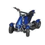 Błękitny kwadrata rower Fotografia Stock