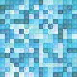 błękitny kwadraty ilustracja wektor