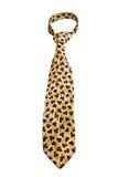 błękitny kwiatów krawata kolor żółty Zdjęcia Stock