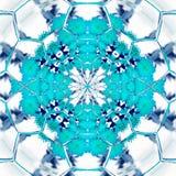 Błękitny kwiat życie na białym tle obrazy royalty free