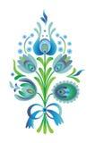 Błękitny kwiat ilustracji