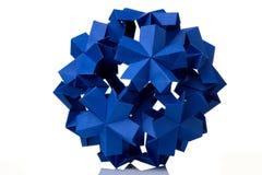Błękitny kwiat odizolowywający na bielu Zdjęcie Stock