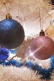 błękitny kwiatek święta ornamentu cień ilustracyjny Obraz Stock
