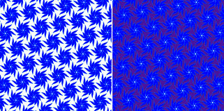 błękitny kwiaty ustawiają Obrazy Royalty Free