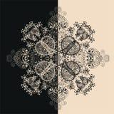 Błękitny Kwiecisty Bezszwowy wzór na bielu Obrazy Stock