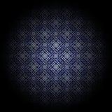 błękitny kwiecisty luksus Fotografia Stock