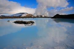 błękitny laguna Zdjęcie Royalty Free